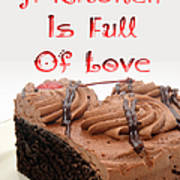 A Kitchen Is Full Of Love 4 Poster