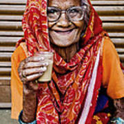 A Lady And Her Chai II Poster