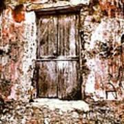 A Locked Door Poster by H Hoffman