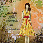A Longing Fulfilled Poster by Janelle Nichol