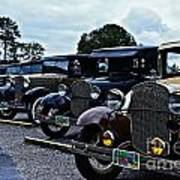 A Lot Of Classic Cars Poster