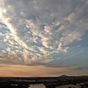 A M Clouds Lake California Poster