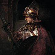 A Man In Armour, 1655 Poster