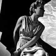 A Model Wearing A Piguet Dress Poster