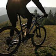 A Mountain Biker Makes His Final Poster