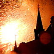 New Orleans St. Louis Cathedral A New Day A New Year In Louiisana Poster