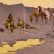 A New Year On The Cimarron  Poster