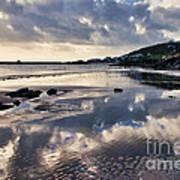A November Afternoon At Lyme Regis Poster