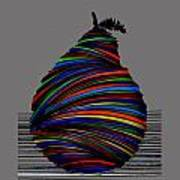 A Pear 2004 Grey Poster