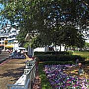A Perfect Day On The Boardwalk Walt Disney World Poster