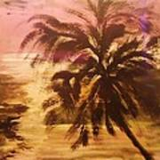 A Popular Tropical Scene Poster