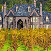 The Ledson Castle - Kenwood, California Poster