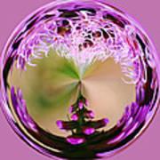 A Purple Design Poster