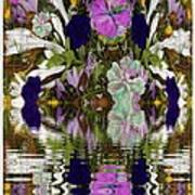 A River Of Flowers  Poster