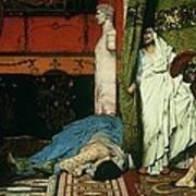 A Roman Emperor   Claudius Poster by Sir Lawrence Alma Tadema