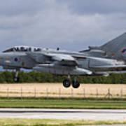 A Royal Air Force Tornado Gr4a Landing Poster