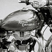 A Royal Enfield Motorbike Poster