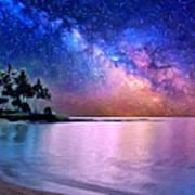 A Sea Of Stars At Poipu Poster