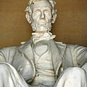 A Seated Abe Lincoln Poster