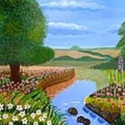 A Spring Stream Poster