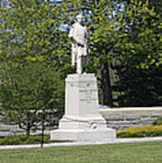 A Statue Of Colonel Thayer Poster