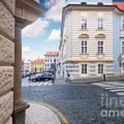 A Street In Prague Poster