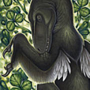 A Suspicious Deinonychus Antirrhopus Poster