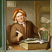 A Tax Collector, 1745 Poster by Tibout Regters