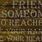 A True Friend Poster