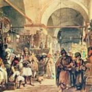 A Turkish Bazaar Poster