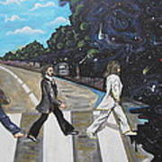 A Twist On Abbey Road By Erik Franco.  Poster