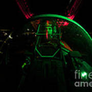A U.s. Air Force Pilot Sits Poster