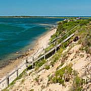 A View From Chappaquiddick Island Marthas Vineyard Massachusetts Poster