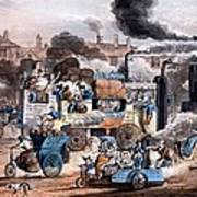A View In White Chapel Road 1830 Poster