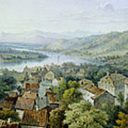 A View Of Karlsruhe Poster