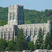 A View Of The Cadet Chapel At The United States Military Academy Poster