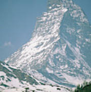 A View Of The Majestic Matterhorn Poster
