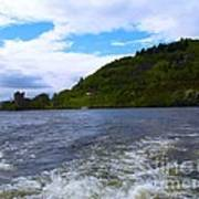 A View Of Urquhart Castle Poster