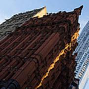 A Warm Slice Of Sunshine - Manhattan's Potter Building At Sunrise Poster