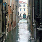 A Waterway Of Venice  Poster