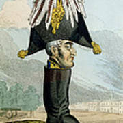 A Wellington Boot Or The Head Poster