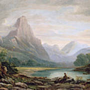 A Welsh Valley, 1819 Poster