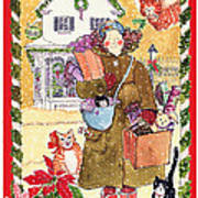 A Whiskers And Piper Christmas Poster