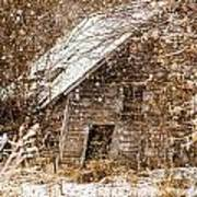 A Winter Shed Poster