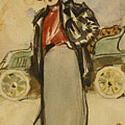 A Woman Driver Poster