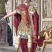 A Young Emperor In His Imperial Armour Poster