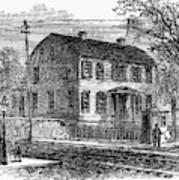 Aaron Burr Birthplace Poster