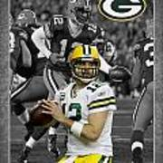 Aaron Rodgers Packers Poster