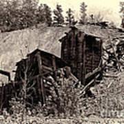 Abandon Montana Mine Poster