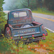 Abandoned Chevy Poster